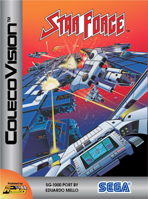 Star Force for Colecovision Box Art