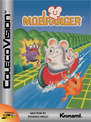 Mopiranger for Colecovision Box Art