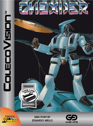 Thexder for Colecovision Box Art