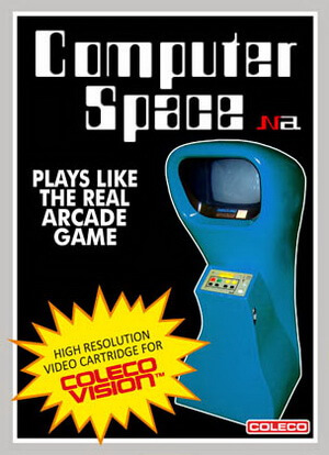 Computer Space for Colecovision Box Art
