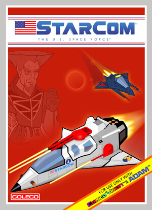Starcom for Colecovision Box Art