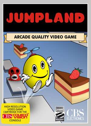 Jumpland for Colecovision Box Art