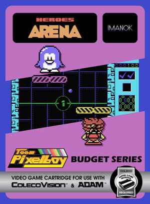 Heroes Arena for Colecovision Box Art