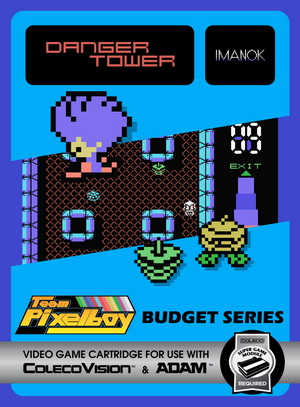 Danger Tower for Colecovision Box Art